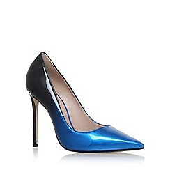 Carvela - Blue 'Alice' high heel court shoes