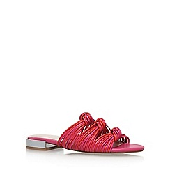 Nine West - Pink 'Xenon' flat sandals