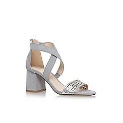 Nine West - Grey 'Chandelier' high heel sandals