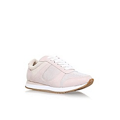 Carvela - Natural Mega 2 flat lace up sneakers