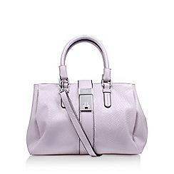 Carvela - Purple 'Paige Weave Slouch Bag' handbag with shoulder straps