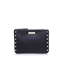 Carvela - Black 'Perrie Stud 2 Pouch' zip fastening purse