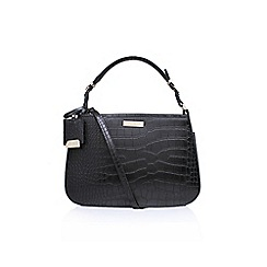Carvela - Black polly structured hobo tote bag