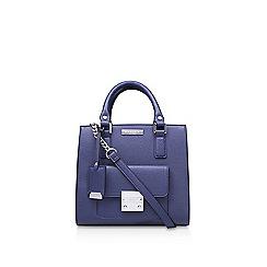 Carvela - Blue 'Patsy Front Pocket Lock' handbag with shoulder straps