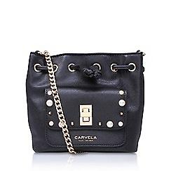Carvela - Black 'PEARL X BODY' cross body bag
