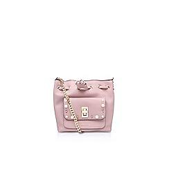 Carvela - Pink pearl cross body tote bag