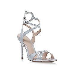 KG Kurt Geiger - Silver jina high heel sandals