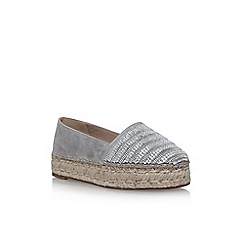 KG Kurt Geiger - Grey 'Misha' flat slip on sneakers