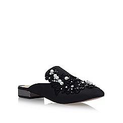 KG Kurt Geiger - Black 'Okka' low heel sandals