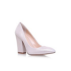 Vince Camuto - Off white Brayton high heel court shoes