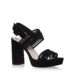 Vince Camuto - Black Jazelle high heel sandals