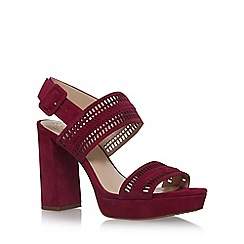 Vince Camuto - Red Jazelle high heel sandals