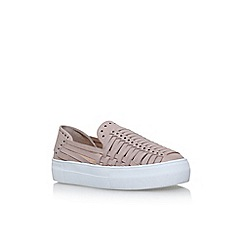 Vince Camuto - Beige 'Kenney' flat slip on sneakers