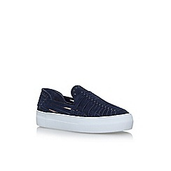 Vince Camuto - Blue 'Kenney' flat slip on sneakers