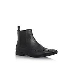 KG Kurt Geiger - Black 'Remmy' flat chelsea boots