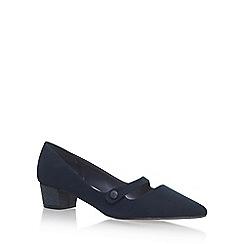 Miss KG - Blue 'Audrina' mid heel sandals