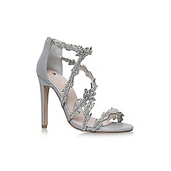 Carvela - Silver 'Goa' high heel sandals