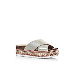 Carvela - Gold 'Kake' flat sandals