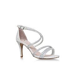 Carvela - White 'Gravity' high heel sandals