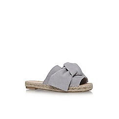 Carvela - Grey 'Kurry' flat sandals