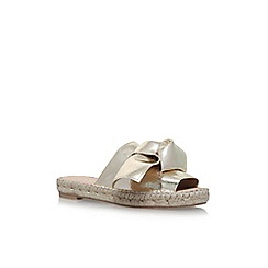 Carvela - Gold 'Kurry' flat sandals