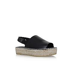 Carvela - Black 'Kinder' flat sandals