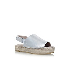 Carvela - Silver 'Kinder' flat sandals