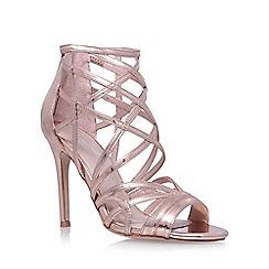 Carvela - Metal 'Lynton' high heel sandals