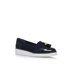 Carvela - Blue 'Mitch' flat slip on loafers