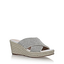 Carvela - White 'Sprinkle' high heel sandals
