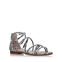 Carvela - Brown 'KALIBER' flat sandals