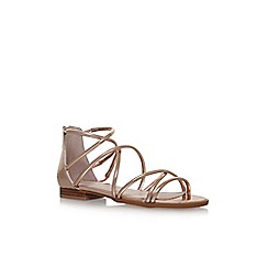Carvela - Metal Kaliber flat sandals