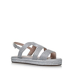 Carvela - Silver 'KLEO' flat sandals