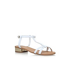 Carvela - White 'Bravo' low heel sandals