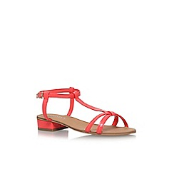 Carvela - Orange 'Bravo' low heel sandals