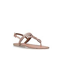 Carvela - Metal 'Brill' flat sandals