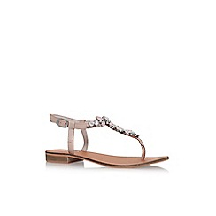 Carvela - Natural 'Belle 2' flat sandals