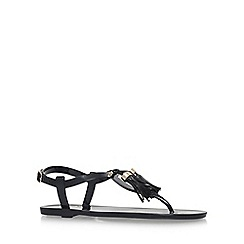 Carvela - Black 'Stupify' flat sandals