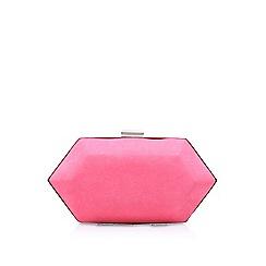 Miss KG - Pink 'Jewel 2' clutch bag