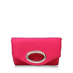 Miss KG - Pink Tia clutch bag