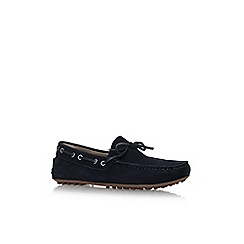 KG Kurt Geiger - Blue 'Lewes' flat slip on loafers