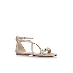 Nine West - Pink 'Dane' flat sandals