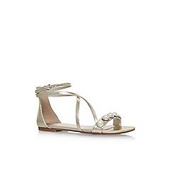 Nine West - Gold dane flat sandals