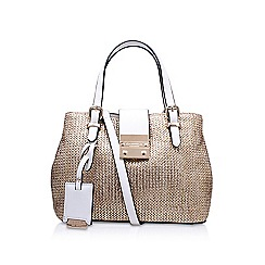 Carvela - Gold Micro Mandy' handbag with shoulder straps