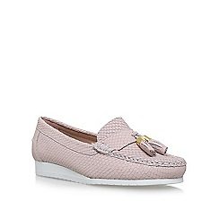 Carvela Comfort - Natural cost flat slip on loafers