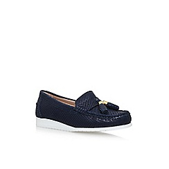 Carvela Comfort - Blue cost flat slip on loafers
