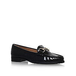 Carvela Comfort - Black Click 2 flat slip on loafers