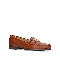 Carvela Comfort - Tan 'Click 2' flat loafers