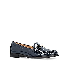 Carvela Comfort - Navy 'Click 2' flat loafers