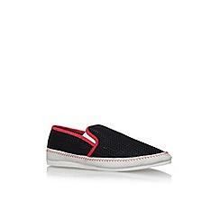 KG Kurt Geiger - Black lyme flat slip on sneakers
